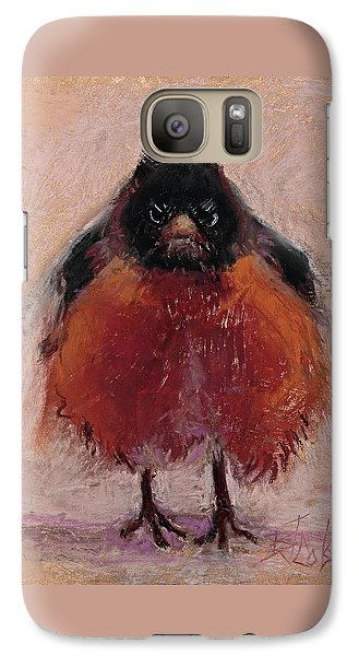 The Original Angry Bird Galaxy Case by Billie Colson