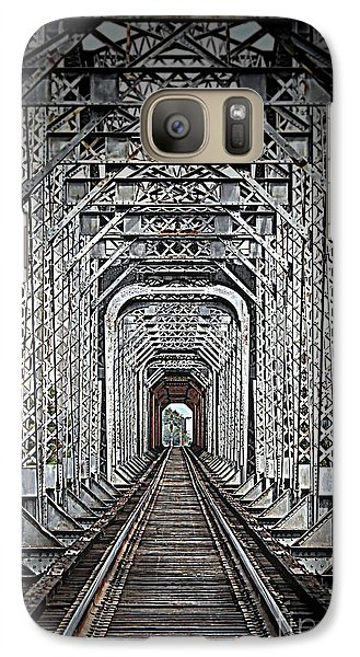 Galaxy Case featuring the photograph The Other Side  by Barbara Chichester