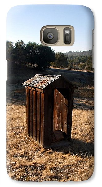 Galaxy Case featuring the photograph The Outhouse by Richard Reeve