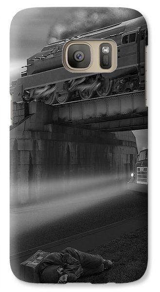 The Overpass Galaxy S7 Case by Mike McGlothlen
