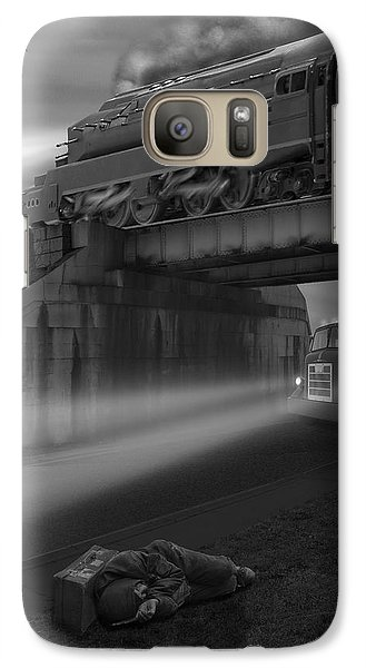 Buzzard Galaxy S7 Case - The Overpass by Mike McGlothlen