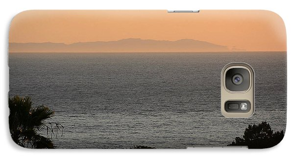 Galaxy Case featuring the photograph The Pacific by Michael Albright