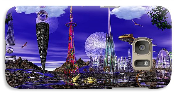 Galaxy Case featuring the photograph The Palace Of Prax by Mark Blauhoefer