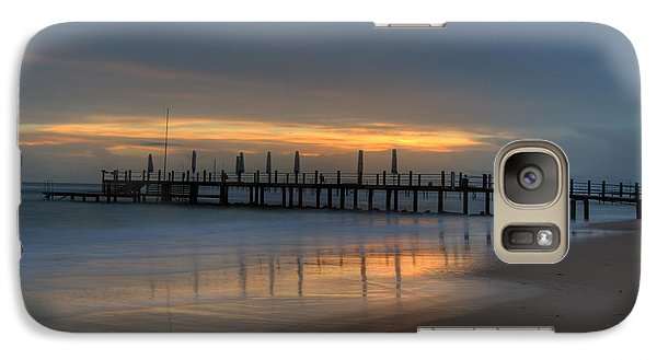 Galaxy Case featuring the photograph The Pale In Peace by Erhan OZBIYIK