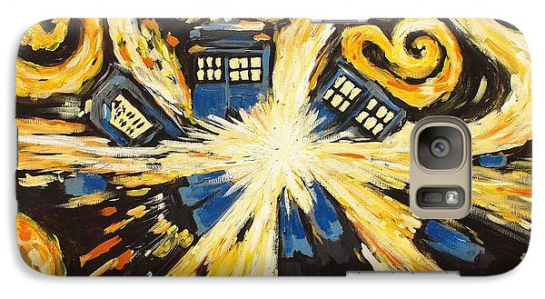 Galaxy Case featuring the painting The Pandorica Opens by Sheep McTavish
