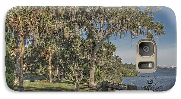 Galaxy Case featuring the photograph The Park by Jane Luxton