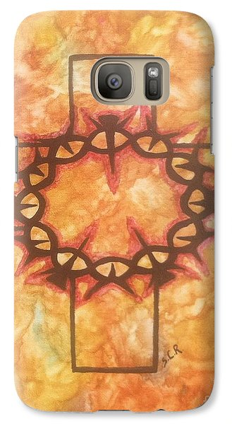 Galaxy Case featuring the painting The Passion By Saribelle Rodriguez by Saribelle Rodriguez