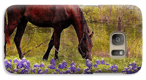 Galaxy Case featuring the photograph The Pasture by Kathy Churchman