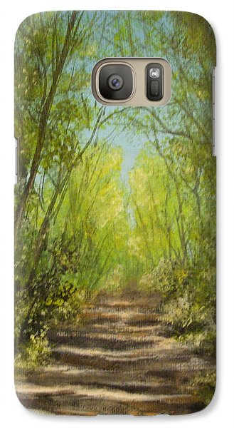 Galaxy Case featuring the painting The Path by Dan Wagner