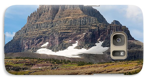 Galaxy Case featuring the photograph The Peak At Logans Pass by John M Bailey