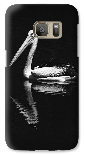 Galaxy Case featuring the photograph The Pelican by Zoe Ferrie