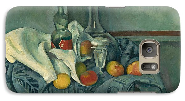 The Peppermint Bottle Galaxy Case by Paul Cezanne
