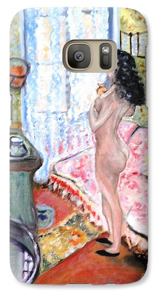 Galaxy Case featuring the painting The Perfumed Room by Helena Bebirian