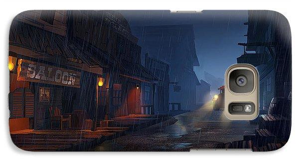 Truck Galaxy S7 Case - The Phantom 309 by Kristina Vardazaryan