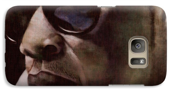 The Pied Piper Of Intrigue - Jay Z Galaxy Case by Reggie Duffie