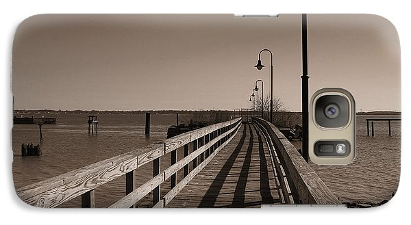 Galaxy Case featuring the photograph The Pier by David Jackson