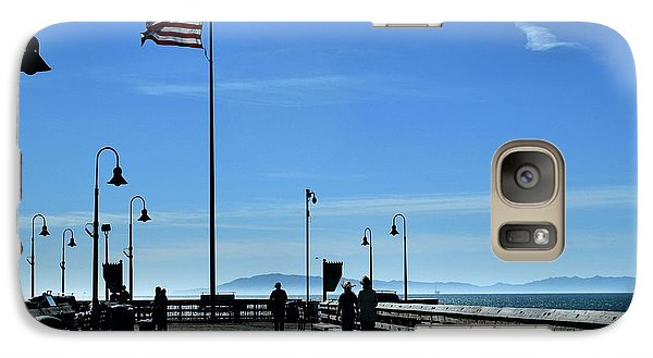 Galaxy Case featuring the photograph The Pier by Michael Gordon