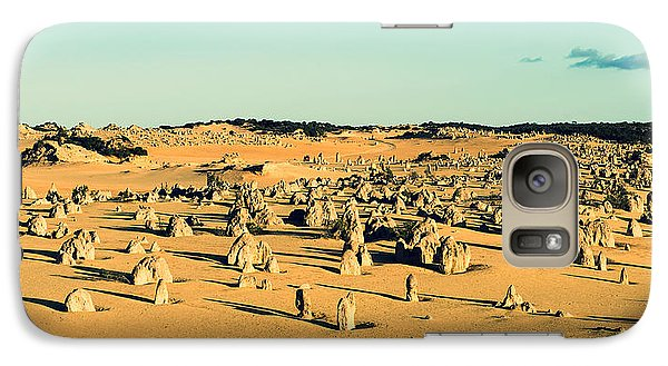 Galaxy Case featuring the photograph The Pinnacles Australia by Yew Kwang