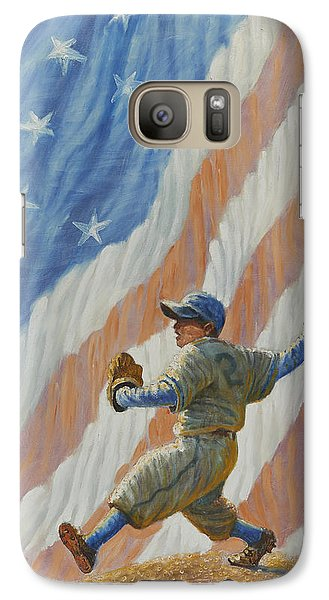 The Pitcher Galaxy S7 Case by Gregory Perillo
