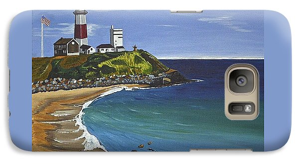 Galaxy Case featuring the painting The Point by Donna Blossom