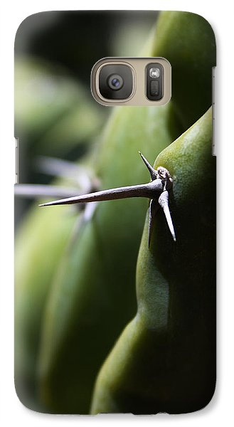 Galaxy Case featuring the photograph The Point Of The Matter by Richard Stephen