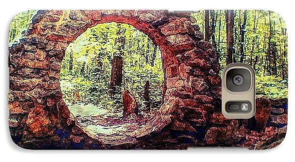Galaxy Case featuring the photograph The Portal To Love Life Peace 1 by Becky Lupe