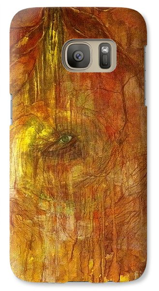 Galaxy Case featuring the painting The Power Of Love by Delona Seserman