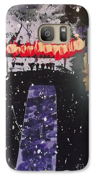 Galaxy Case featuring the painting The Power Of Two by Theresa Kennedy DuPay