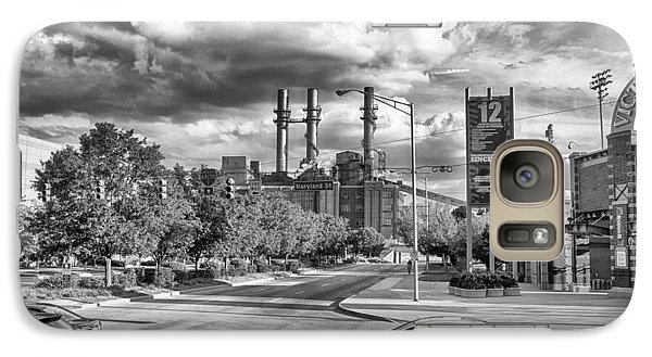 Galaxy Case featuring the photograph The Power Station by Howard Salmon