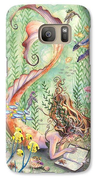 Fantasy Galaxy S7 Case - The Prayer by Sara Burrier
