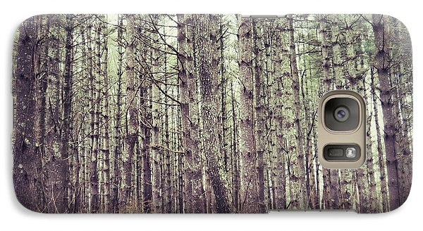 Galaxy Case featuring the photograph The Preaching Of The Pines by Kerri Farley