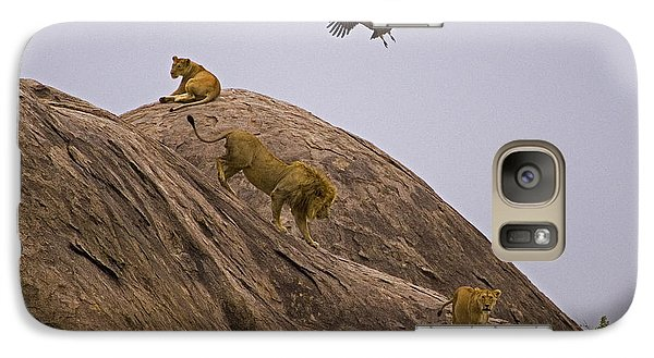 Galaxy Case featuring the photograph The Pride by J L Woody Wooden
