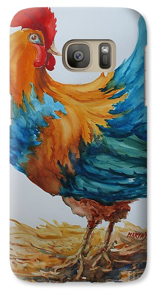 Galaxy Case featuring the painting The Pride Of Yard by Marta Styk
