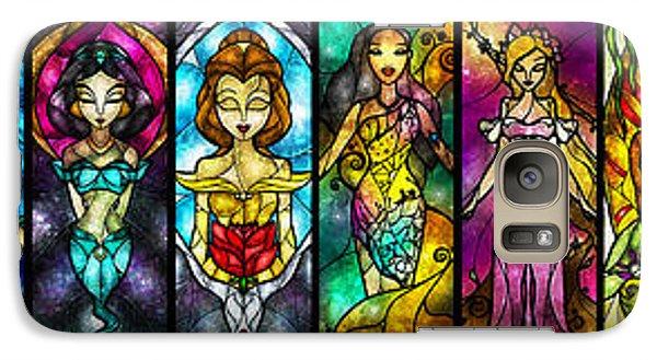 Knight Galaxy S7 Case - The Princesses by Mandie Manzano