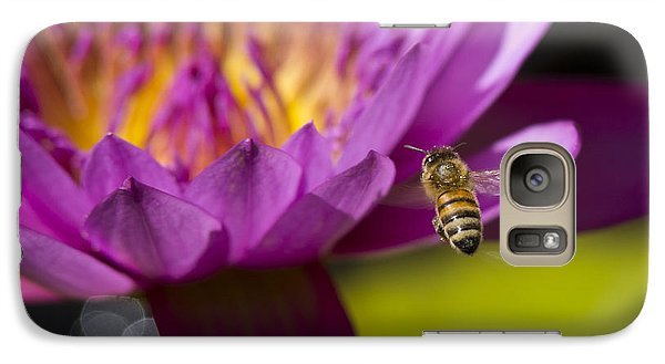 Galaxy Case featuring the photograph The Promise Of Pollen by Priya Ghose
