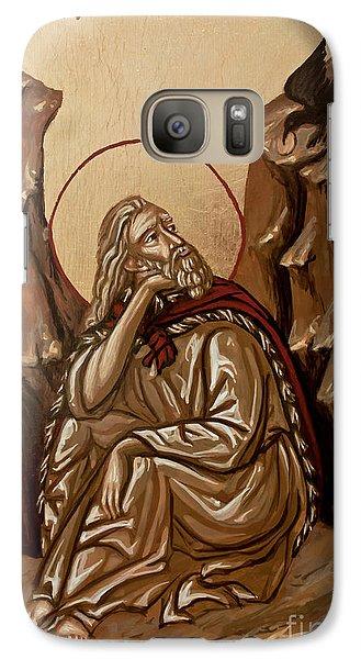 Galaxy Case featuring the painting The Prophet Elijah by Olimpia - Hinamatsuri Barbu