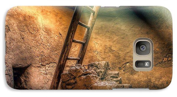 Galaxy Case featuring the photograph The Pueblo Cermonial Room by Anna Rumiantseva