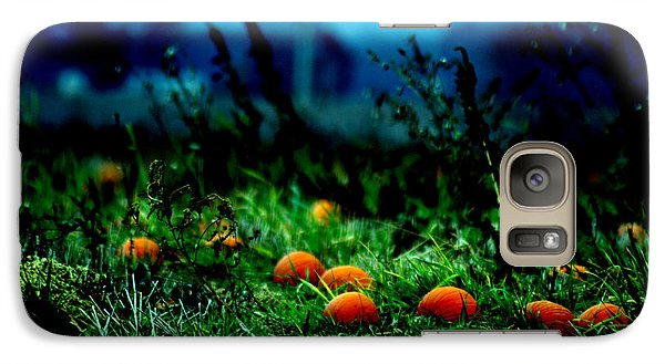 Galaxy Case featuring the photograph The Pumpkin Patch by Lesa Fine