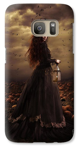 The Pumpkin Patch Galaxy S7 Case by Shanina Conway