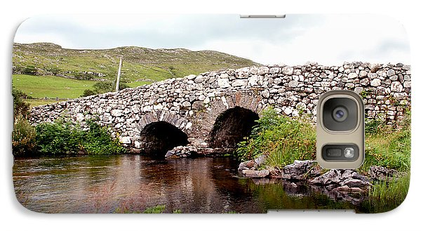 Galaxy Case featuring the photograph The Quiet Man Bridge by Charlie and Norma Brock