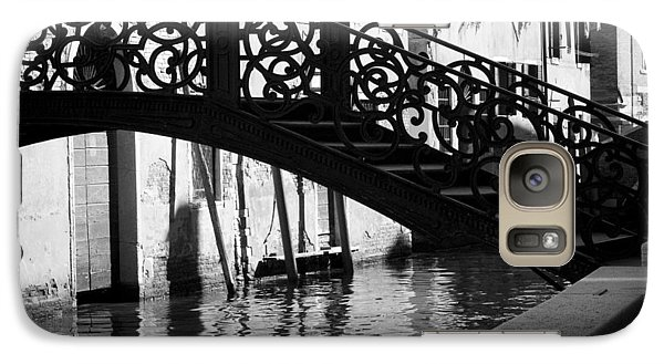 Galaxy Case featuring the photograph The Quiet - Venice by Lisa Parrish