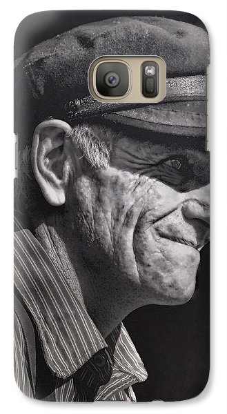 Galaxy Case featuring the photograph The Railwayman by Wallaroo Images