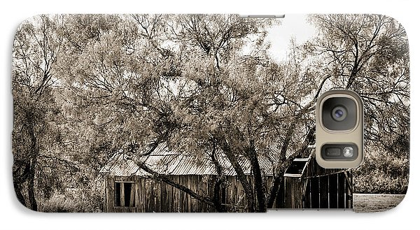 Galaxy Case featuring the photograph The Ranch  by Amber Kresge