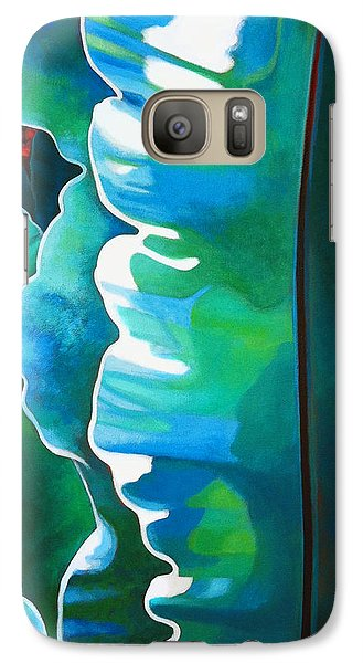 Galaxy Case featuring the painting The Rebel by Angela Treat Lyon