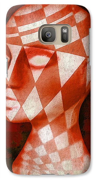 Galaxy Case featuring the photograph The Red Phantom by Jeff  Gettis