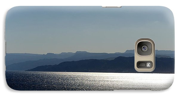 Galaxy Case featuring the photograph The Red Sea by Marwan Khoury