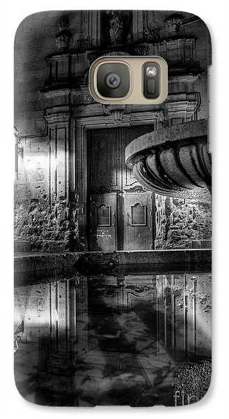 Galaxy Case featuring the photograph The Reflection Of Fountain by Erhan OZBIYIK