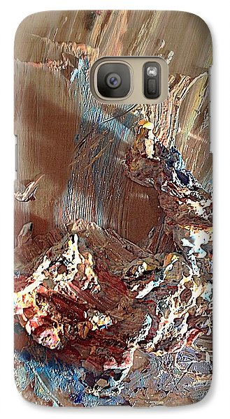 Galaxy Case featuring the digital art The Remaining Of The Day by Delona Seserman