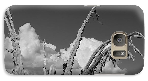 Galaxy Case featuring the photograph The Remnant by Terry Garvin