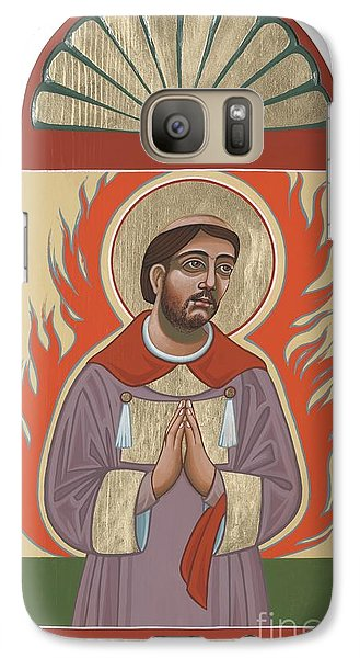 Galaxy Case featuring the painting The Retablo Of San Lorenzo Del Fuego 253 by William Hart McNichols